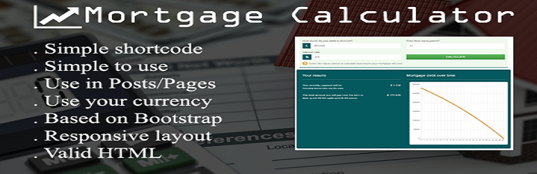 Wordpress Plugin Ultimate Mortgage Calculator